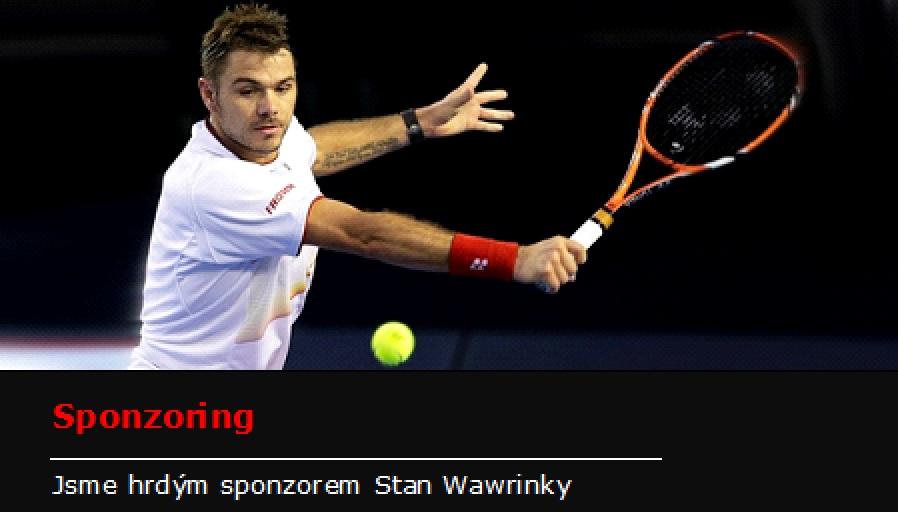 Jsme hrdým sponzorem Stan Wawrinky