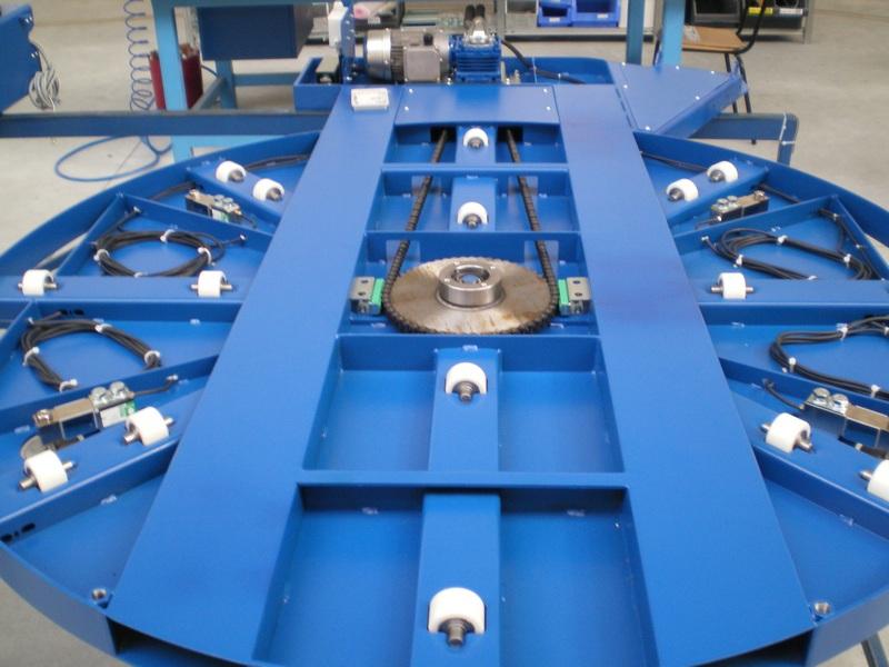 Fromm - ovijeci stroje -  Integrovaná váha