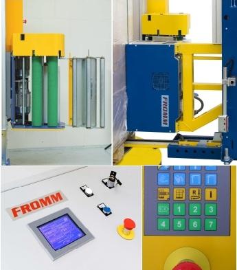 4SFW - FROMM ovinovací / páskovací stroj