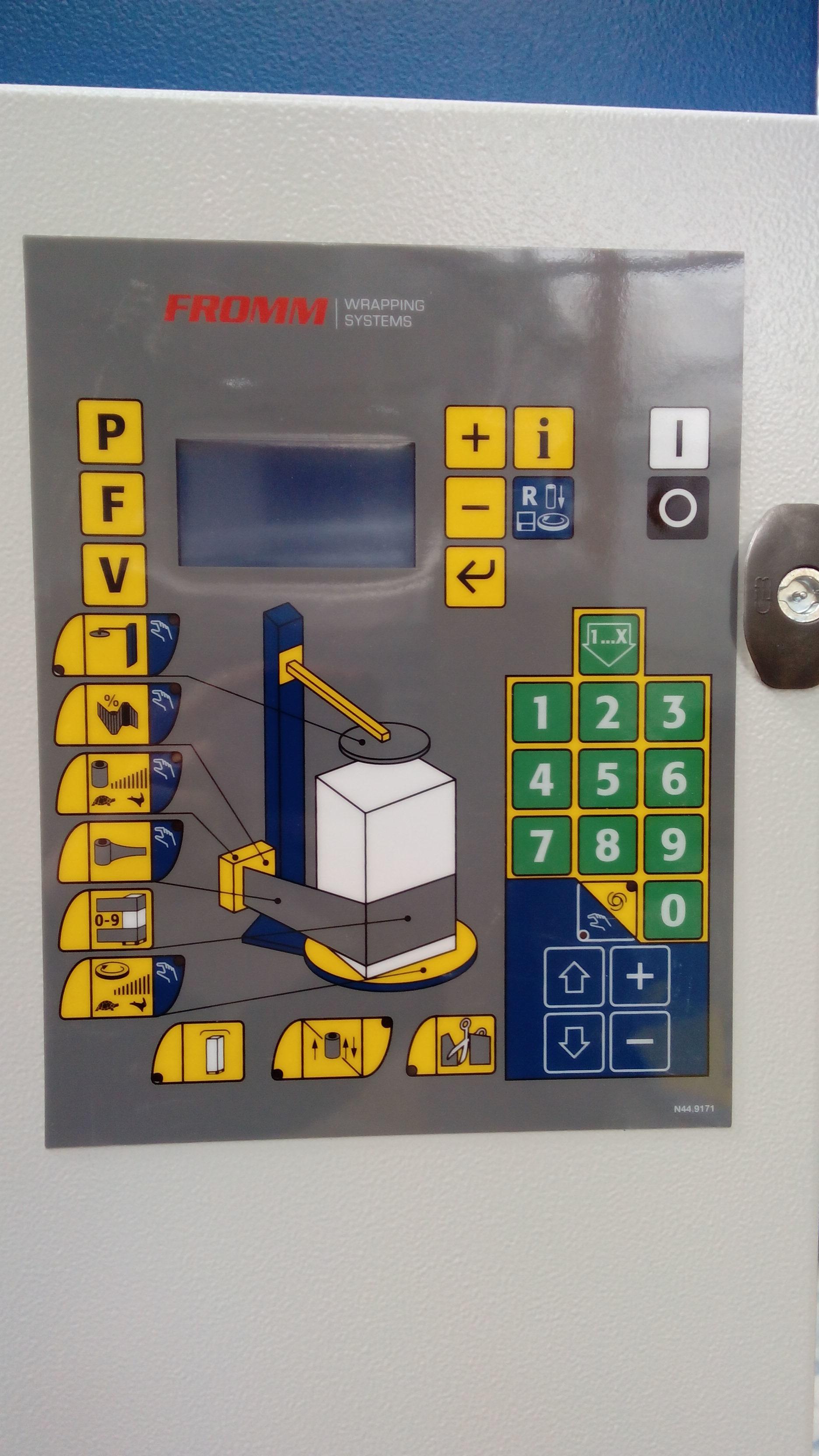 Fromm ovijeci stroje - operacni panel FS390