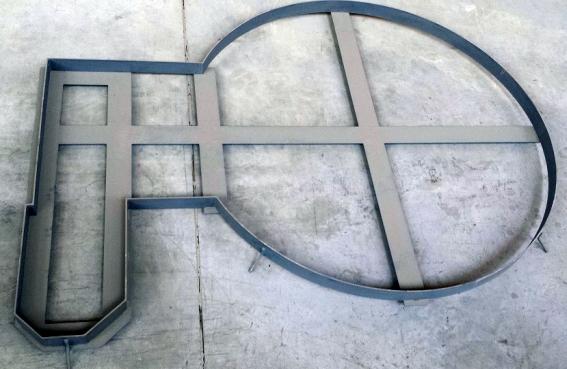 Fromm - ovijeci stroje - Rám pro zavedení stroje do podlahy