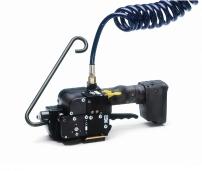 Pneumatické páskovače na plastové pásky spojené beze spony