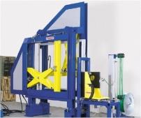 Automatický páskovací systém s dřevěným  lisem